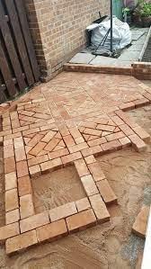 cool rock concrete brick patio ideas