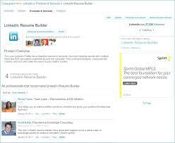 Linkedin Resume Builder 2018 Magnificent Linkedin Resume Builder Shining Generator Create A Samples For