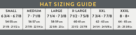 International Clothing Size Chart Small Medium Large Hat Sizing Guide Mens Womens Hat Sizing Chart Hats