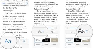 change text size how to customize reading options in kindle for iphone and ipad imore