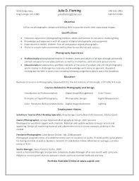 Digital Photographer Resume This Is Resume For Photographer