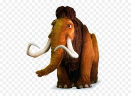 woolly mammoth manfred sid wildlife stuffed toy png