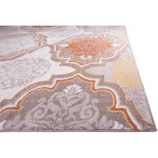 orange and gray area rug grey and orange area rug best decor orange and gray area rug andover mills zella orange gray area rug reviews wayfair