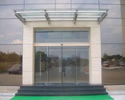 building glass door. automatic door systems, entrance doors, sliding glass door, motorised building