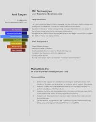information architect resume amit tungare resume