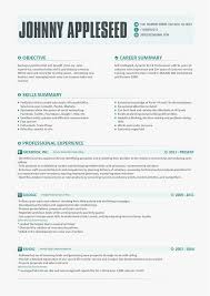 Contemporary Resume Templates Simple Resume Template Johnny