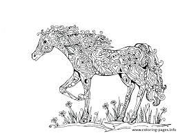 Coloring Pages Realistic Horse Coloring Pages Of Horses Running