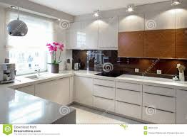 Modern Kitchen Interior Luxurious Modern Kitchen Royalty Free Stock Images Image 35521749