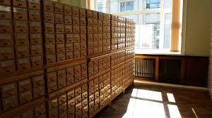 Карточные каталоги РГБ От карточных записей в читательском каталоге библиотека полностью откажется в течение ближайших двух лет одновременно с завершением работ по пополнению