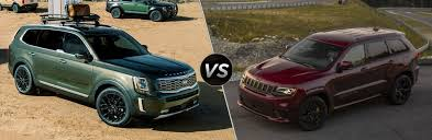 Jeep Grand Cherokee Trim Comparison Chart 2020 Kia Telluride Vs 2020 Jeep Grand Cherokee Friendly Kia