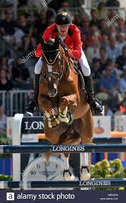 Jos Verlooy BEL with Igor during the Longines FEI Jumping European  Championship 2019 on August 25 2019 in Rotterdam, Netherlands. Credit:  Sander Chamid/SCS/AFLO/Alamy Live News Stock Photo - Alamy