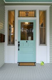 Wythe Blue Sherwin Williams Front Door Color Sherwin Williams Drizzle Turquoise Aqua Front