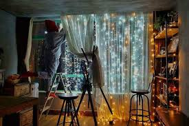 you decorate a room with fairy lights