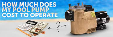 how much does my pool pump cost to run