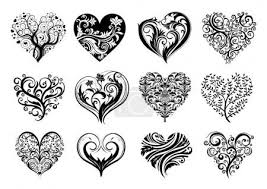 Vektorová Grafika 12 Tetování Srdce 2257956 Fotobanka Fotkyfoto