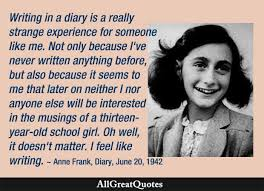 Diary Of Anne Frank Quotes Famous Anne Frank Quotes AllGreatQuotes Delectable Anne Frank Quotes