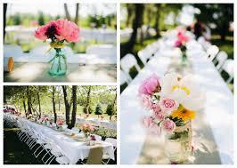 outdoor wedding table centerpiece ideas