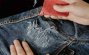 diy how to distress a denim jacket step by step visuals so you ll be torn to perfection