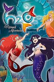 Amazon.co.jp: H2O Mermaid Adventures: Blank Lined Soft Cover For ...
