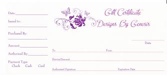 printable gift certificate templates blank