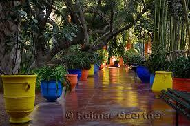 majorelle garden marrakech morocco