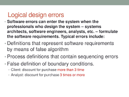 Logical Design Definition What Is Software Quality Ppt Download