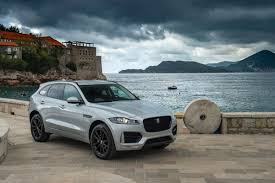 View Gallery Next 2017 Jaguar F-Pace Silver Front Right Quarter