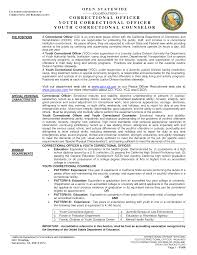 correctional officer resumes template correctional officer resumes