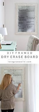 Framed Dry Erase Board Best 20 Dry Erase Board Ideas On Pinterest Erase Board Message