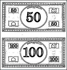 Money Coloring Pages Coloring Play Money Coloring Sheets Pages Page