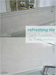 how to refinish ceramic tile