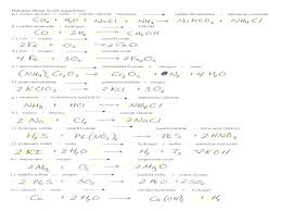unique balancing chemical equations worksheet answers chemistry worksheets