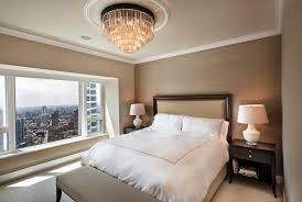 small master bedroom design with chandelier tzs design