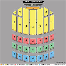 Radio City Music Hall Virtual Seating Chart Radio City Music Hall Seating Chart Christmas Spectacular