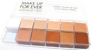 make up for ever foundation palette makeup forever foundation palette