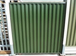 corrugated metal fence panels. Steel Fencing Rhino Cladding. Furniture Corrugated Metal Fence Panels