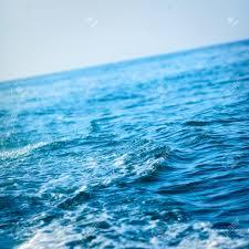 Ocean Wave Background Blue Ocean Wave Background Andaman Sea Thailand Stock Photo