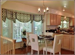 Kitchen Bay Window Treatment Ideas