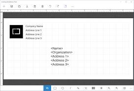Envelope Address Print Windows Store App