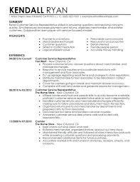 Customer Service Skills For Resume Airexpresscarrier Com