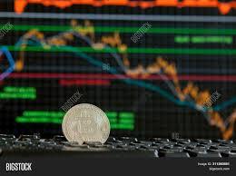 Bitcoin Gold Coin Image Photo Free Trial Bigstock
