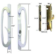 sliding door handles replacement sliding glass patio door handle set with mortise lock white need replacement