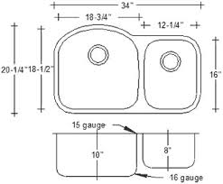 kitchen sink dimensions. Standard Kitchen Sink Dimensions Best Of Size
