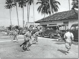 Image result for Force 136 fought alongside Chin Peng to repel the Japanese forces.