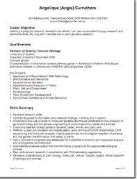 ... Excellent Science Resume Examples 6 Example Science CVs And Cover  Letters ...