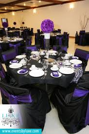 13 Best Purple Black And White Damask Wedding Decor Images On Purple And Black Wedding Colors