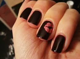 Simple Dark Nail Art Ideas - Registaz.com
