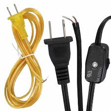 fabric lighting cord. SPT-1 Power Cords - Lamp With Plugs Inline Switches Sockets Fabric/Plastic Fabric Lighting Cord T