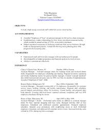 Cool Resume For Hotel General Manager Pictures Inspiration Entry