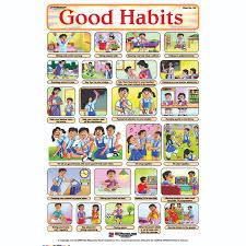 Chart No 180 Good Habits